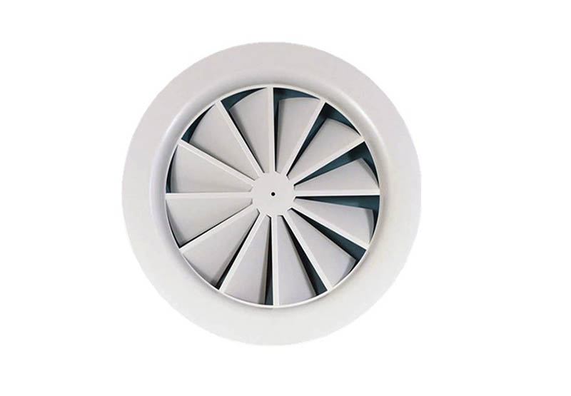 Round Swirl Ceiling Diffusers ac registers