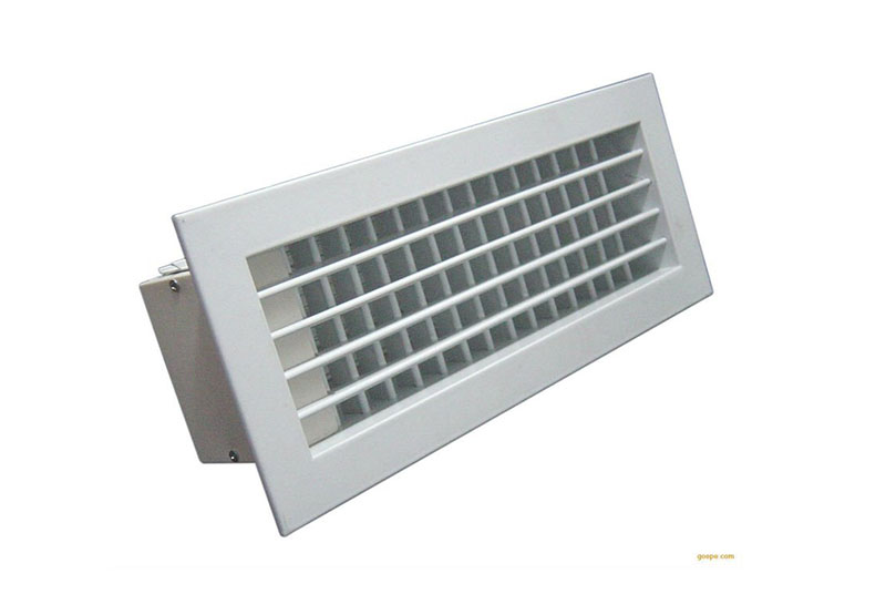 Aluminum air ventilation grille Wall Supply Double Deflection Grille